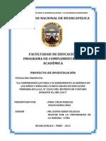 Proyecto de Investigacion Bachillerato