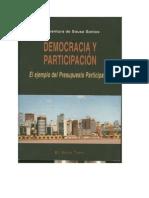 09.- Boaventura de Sousa Santos. Democracia y participación. El presupuesto participativo en Porto Alegre
