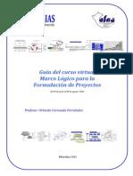 Guía del Curso Marco Lógico para la Formulación de Proyect…