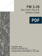 FM 3-39 Military Police Operations (2013) uploaded by Richard J. Campbell