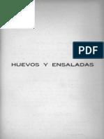 Libro Recetas Cocina Manual Cocina Vegetariana Recetas De Huevos Y Ensaladas.pdf