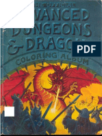 Official Advanced Dungeons and Dragons Coloring Book