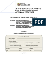 Treasury Database Form