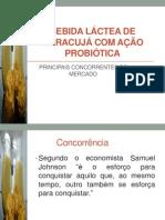 BEBIDA LÁCTEA DE MARACUJÁ COM AÇÃO PROBIÓTICA
