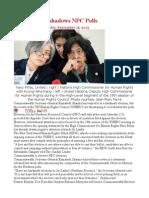 UNHRC Overshadows NPC Polls