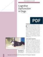 Cognitive Dysfunction in Dogsfrank