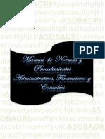 Manual de Normas y Procedimientos Administrativos