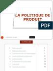 Politique de Produit 2011 Finale