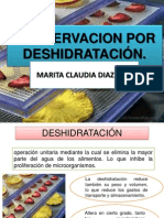 Marita Diaz Ruiz.- Conservacion Por Deshidratacion
