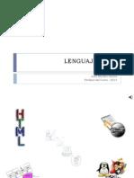 Lenguaje HTML - 2013