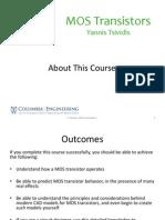 Lecture Slides 1.1 Course Introduction