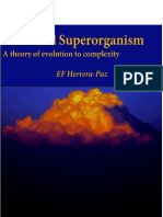 Universal Superorganism. A theory of evolution to complexity