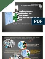 Ponencia 2013-Autorización sanitaria de Medicamentos en el Perú-Dennis Senosain Timana
