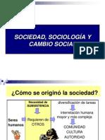 6.- Sociedad sociología y cambio social
