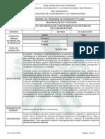 Programa de Formación Telecomunicaciones 2013-julio