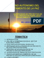 Elctricidad Area Rural Supervision
