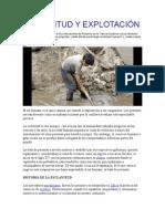 ESCLAVITUD Y EXPLOTACIÓN TRATA DE PERSONAS