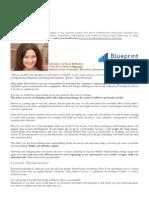 Adventures of Karin Bellantoni, Chief Provocateur at Blueprint