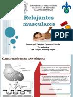 5. relajantes musculares