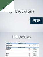 Pernicious Anemia (B12 Deficiency)