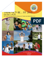 Think Act Be Fit 2013 Brochure