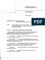 T5 B50 Hijacker Primary Docs- UA 175 1 of 2 Fdr- Alshehhi Tab- 8-8-03 Memo From Bradford-DOJ Re Location History of Alshehhi File 358