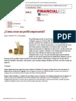 ¿Cómo crear un perfil empresarial_ _ Creacion de Empresas y Emprendedores