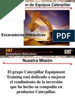 Curso Capacitacion Excavadoras Hidraulicas Caterpillar