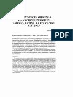 Un nuevo escenario en la educación superior en América Latina - la educación virtual