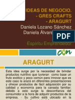 Idea de Negocio Gres Crafts.