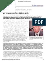 Un juicio político congelado.pdf