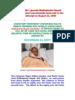 a Nayak Murdered Swami a Saraswati