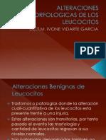 Alteraciones Morfologicas de Los Leucocitos