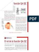 La Funcion Del Rol QA-QC