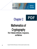 Mathematics of  Cryptography
