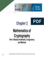 Mathematics of  Cryptography