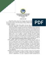 Comunicado Paros Convocados Por Fapuv 20-04-2013