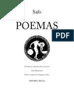Safo (de Lesbos) - [ES] Poemas (Trillas)