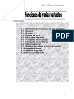Funciones de Varias Variable