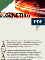 Dasar Dasar Genetika