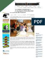 SiteBarra » Familiares e amigos comemoram o aniversário da pequena Vitória Marchioli em Barra de São Francisco