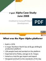Piper Alpha Disaster Slides