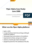piper alpha case studies Ideese has developed in-depth case studies to use with teaching modules visit our case page for more information ideese: cases - bhopal plant disaster : how to use the case materials: the ideese bhopal plant disaster case study includes a situation summary and eight appendices.