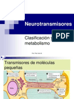 Clase 05 Neurotransmisores 02