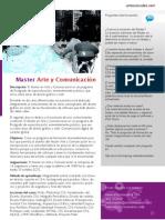 Master en Arte y Comunicación