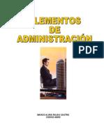 ALIRIO. (Elementos de Administracióni)