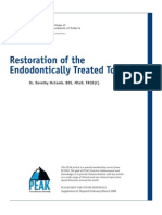 PEAK Restoration of the Endodontically Treated Tooth