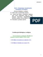 Unidade VI3 - Considerações Fisiológicas
