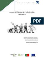 NOCÃO DE TRABALHO E A EVOLUÇÃO HISTÓRICA
