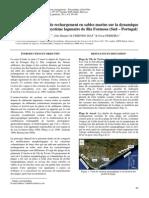 Impact des opérations de rechargement en sables marins sur la dynamique des côtes sableuses du système lagunaire de Ria Formosa (Sud – Portugal)